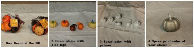 Dollar General Pumpkins…Transformed!