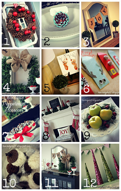 Holiday Crafts & Decor Roundup! + A Dramatic Retelling of Recent Events