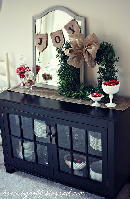 Holiday Decor Around the House…
