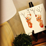 Painting is Complete + Reindeer Feet