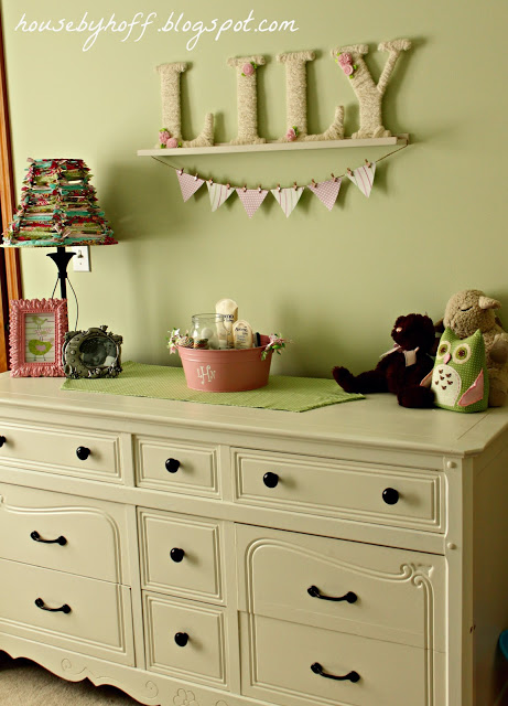 how to make a fabric strip lampshade via housebyhoff.com