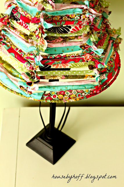 Lampshade Cover | Clever Sewing Projects To Upcycle Fabric Scraps