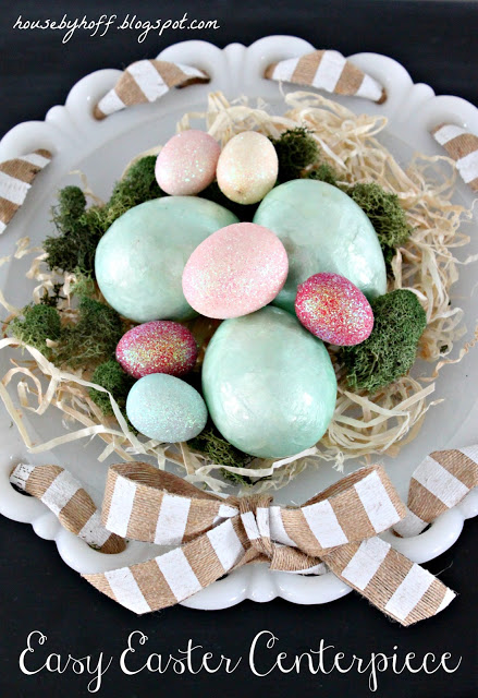 An Easy Easter Centerpiece