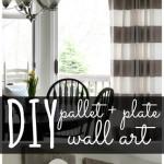 Pallet & Plate Wall Art