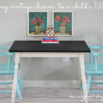 Adding Vintage Charm to a Child's Play Space