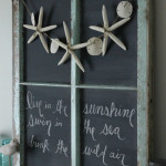 Turning Your Old Window Into a Chalkboard