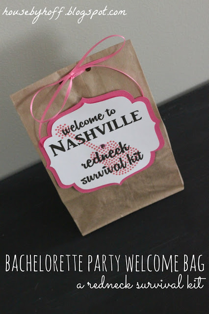 Nashville Bachelorette Party via housebyhoff.com
