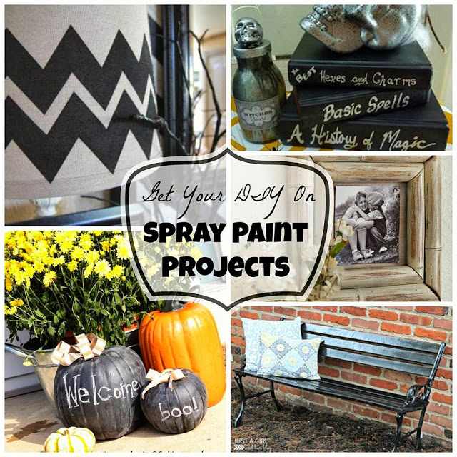 Get your DIY on spray paint projects poster.