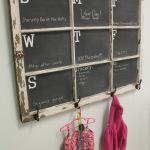 Chalkboard Window Calendar