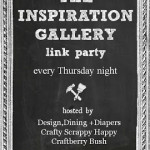 The Inspiration Gallery Link Party {I'm A Co Host!}