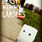 Easy Peasy Mummy Candles {and A Trip Down Memory Lane…}