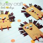 A Little Turkey Craft for Your Little Turkeys {Guest Post for eighteen25}