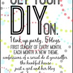 Get Your DIY On {Big Announcement!}