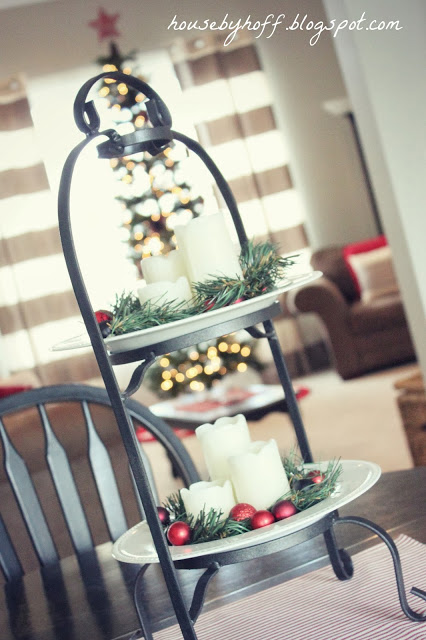 holiday decorating ideas via housebyhoff.com