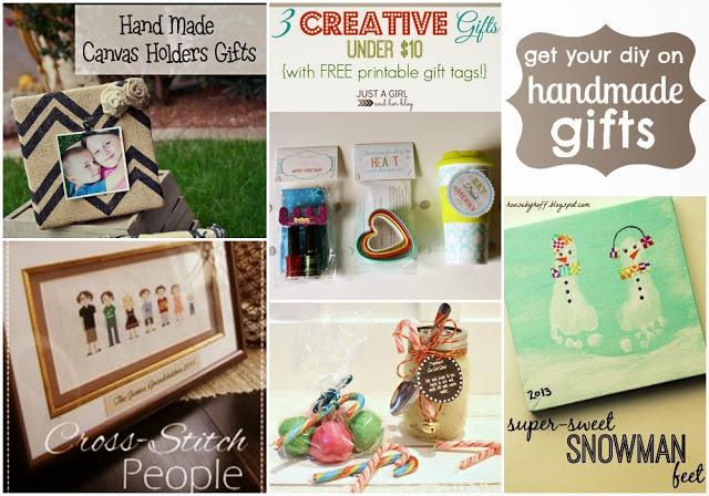 Handmade gifts blogger poster.