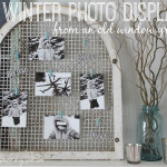 A Winter Photo Display {It's $30 Thursday!}