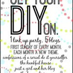 Get Your DIY On Link-Up Party {Simple Decor Projects We Love!}
