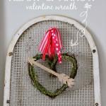 Heart & Arrow Valentine Wreath {It's $30 Thursday!}