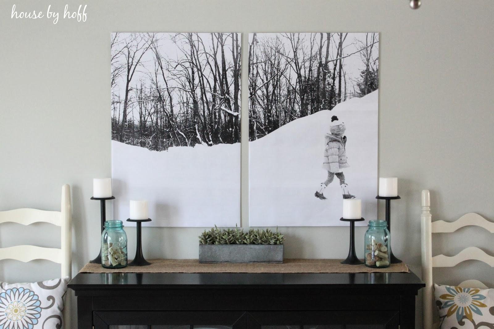 Split-Photo Engineer Print Wall Art via housebyhoff.com