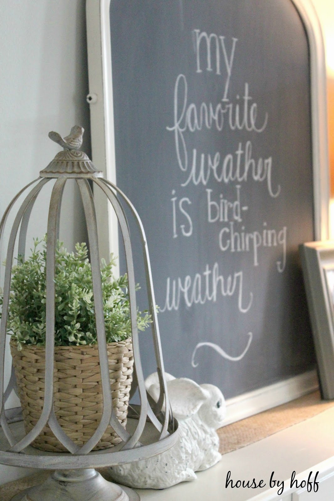 Three Spring Chalkboard Ideas House By Hoff