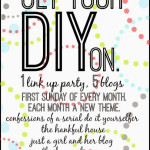 Jaunary's Get Your DIY On Link Up Party! {Organization Projects!}