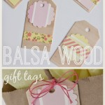 Balsa Wood Gift Tags
