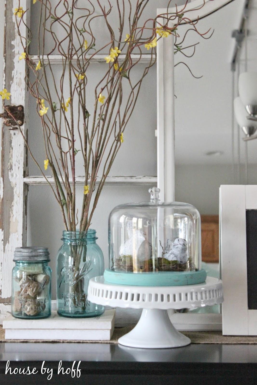 how to decorate with birds via housebyhoff.com
