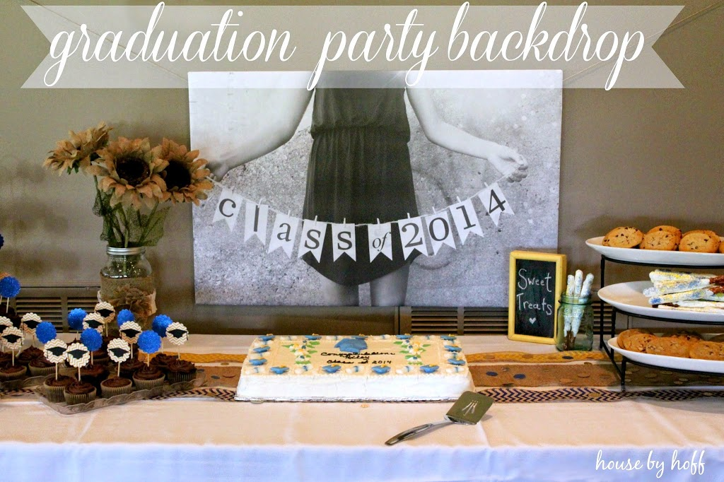 Photography Wednesday Graduation Party Backdrop House