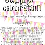 Summer Celebration Link-Up Party!