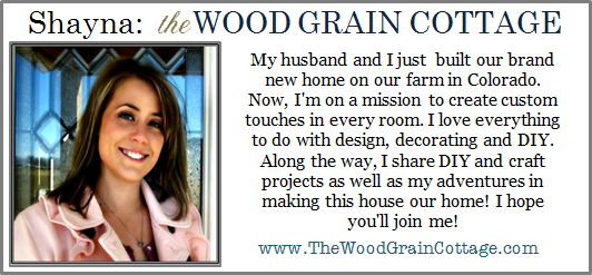 About Shayna the Wood Grain Cottage