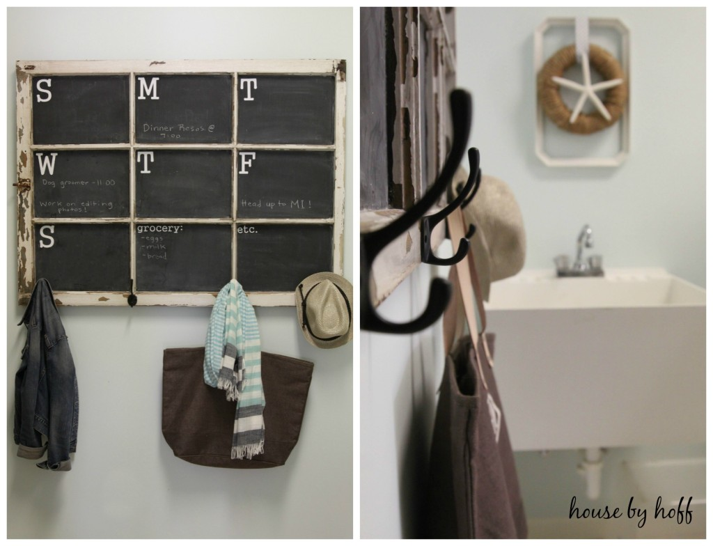 laundry room makeover collage 1