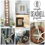 six simple seashell projects via housebyhoff.com