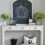 Fall Is Coming!  {A Fall Chalkboard Idea}