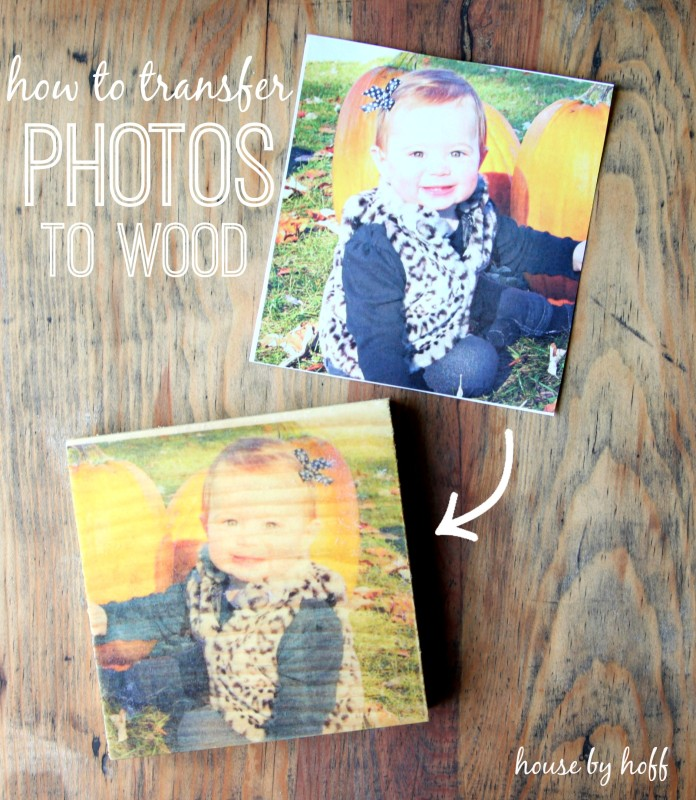 How To Transfer Photos to Wood