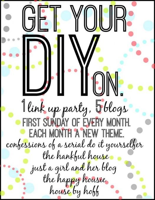 "Get Your DIY On ""DIY Summer Fun"" Link-Up!"