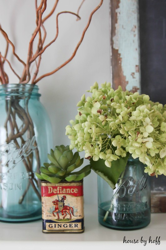 inexpensive fall mantel-3