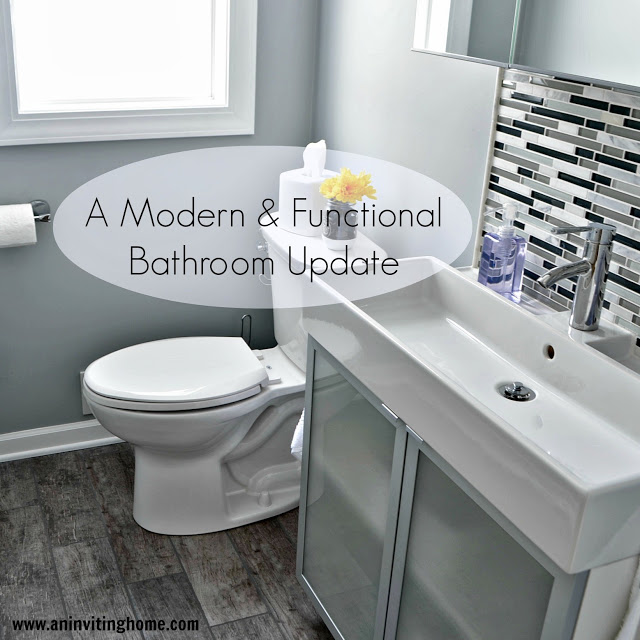 Rectangle modern sink.