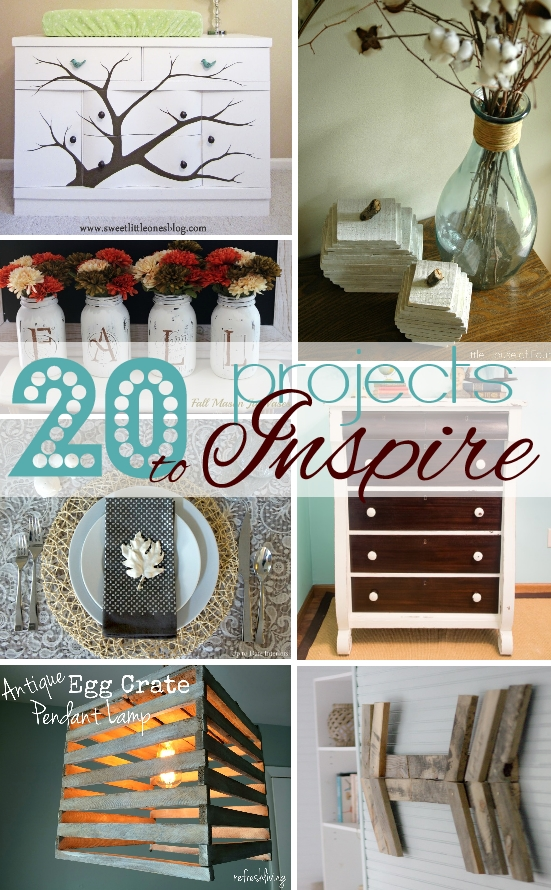 20 Pinterest-Inspired Projects!