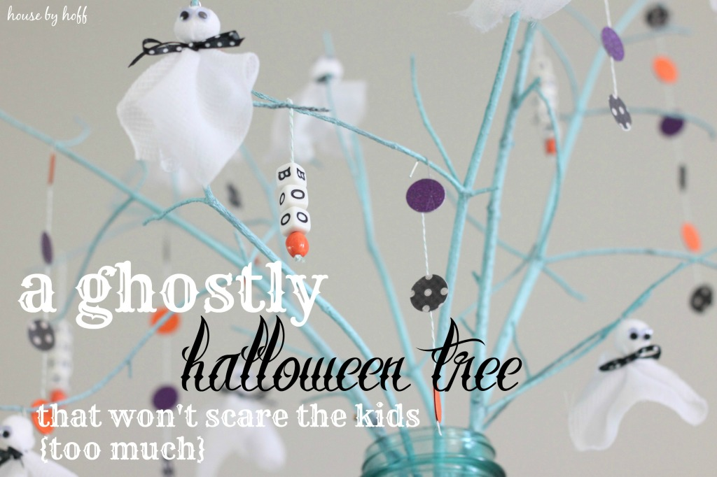 a ghostly halloween tree 3.1
