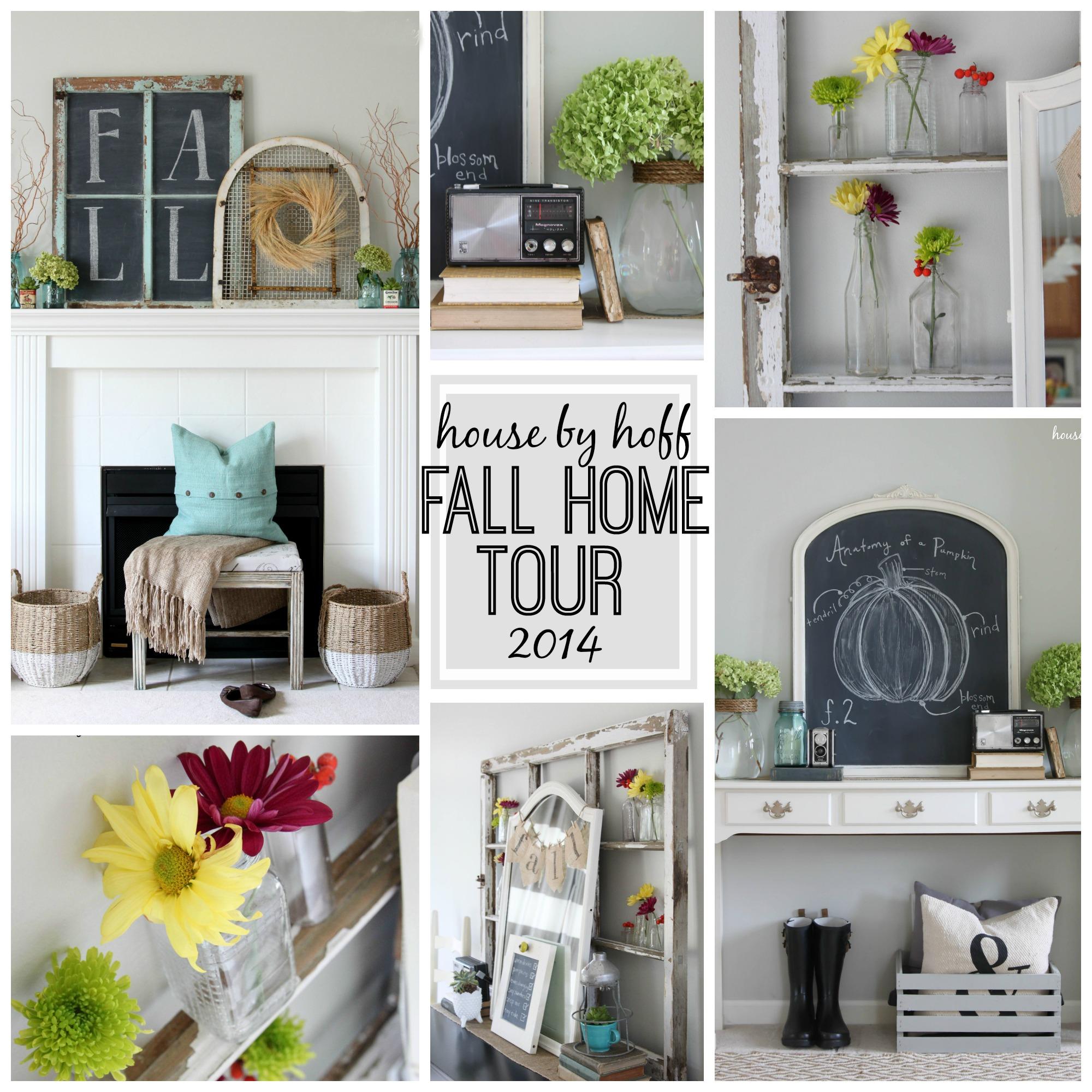 A Warm Rug Some Fall Primping Home Decor: Fall Home Tour