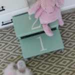 Little Step Stool Makeover {It's $30 Thursday!}