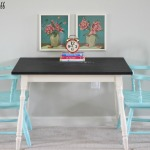 Chalkboard Table and 2 Chairs