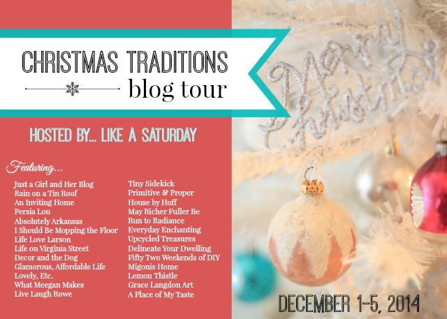Christmas Traditions Blog Tour (2)