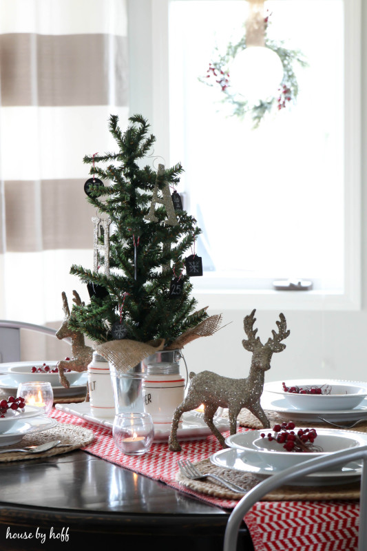 Holiday Home Tour Dining Room via House by Hoff-2