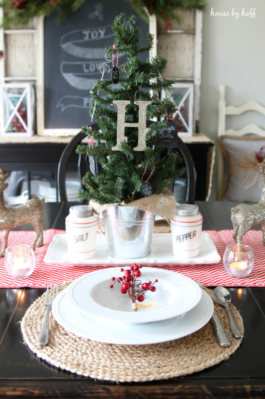 Holiday Home Tour Dining Room via House by Hoff-4