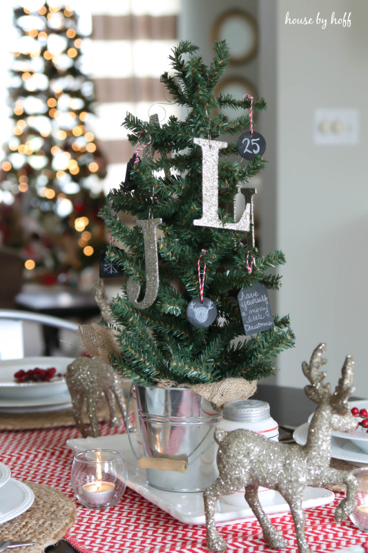 Holiday Home Tour Dining Room via House by Hoff-5