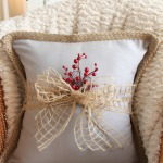 How to Dress Up a Throw Pillow for the Holidays {$30 Thursday!}