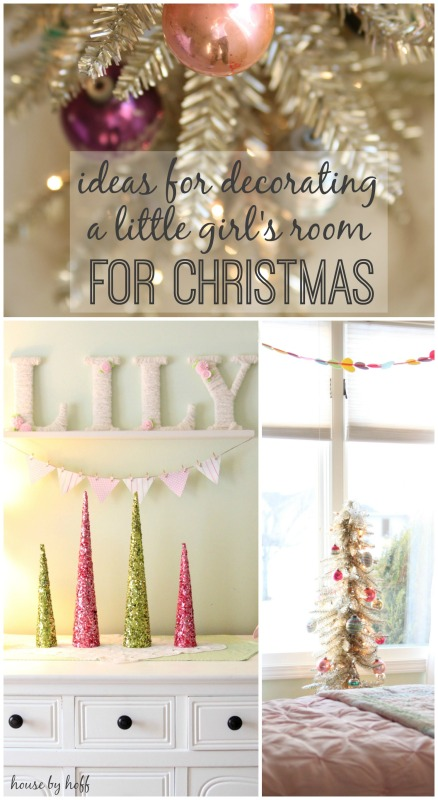Ideas for Decorating a Little Girl's Room for Christmas