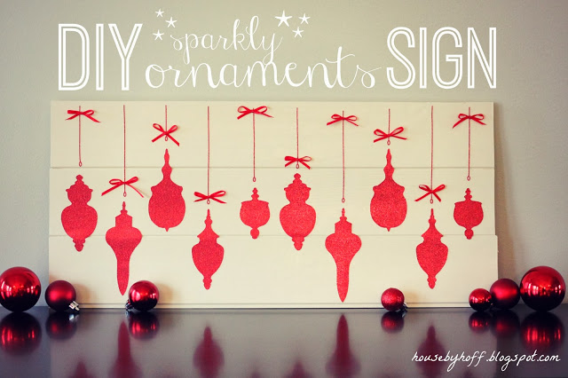 diy sparkly ornaments sign[1]