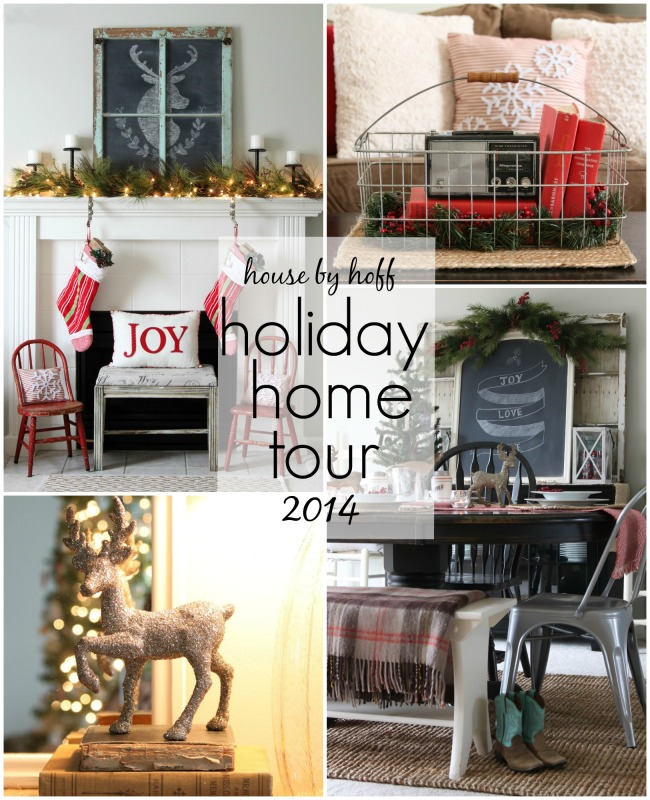 Holiday Home Tour 2014 poster.